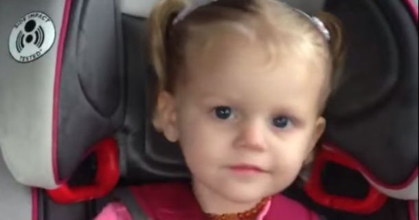 Toddler Wastes No Time Shaking It To 'All About That Bass' In The Backseat